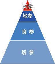正官庄 高麗人参の等級区分